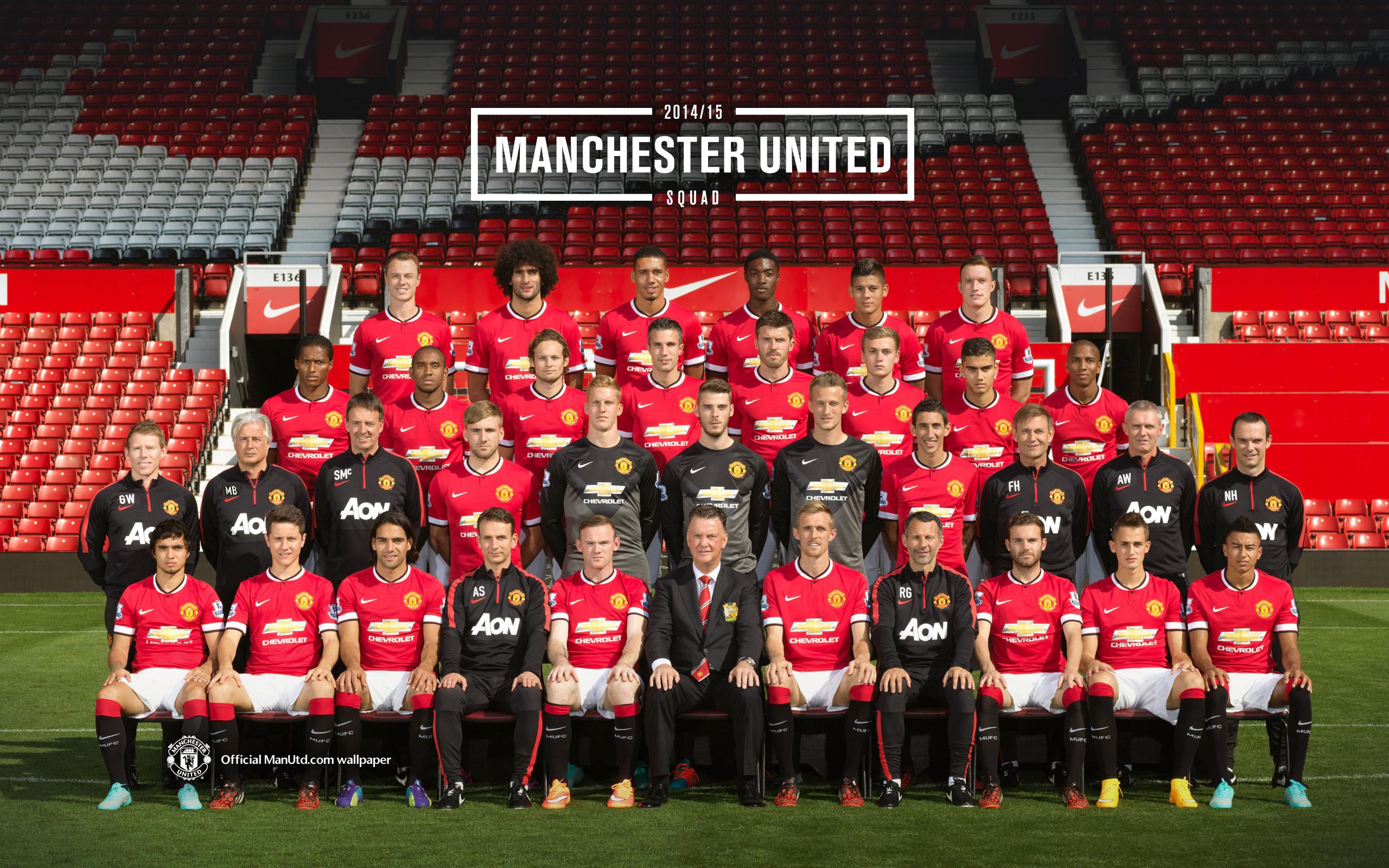 55 Daftar Pemain Manchester United Terbaru 2014